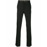 Fendi Men's 'Monogrammed Waist Tapered' Trousers