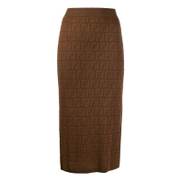 Fendi Women's 'FF Motif' Pencil skirt