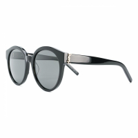 Saint Laurent Women's 'Round Monogram' Sunglasses
