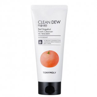 'Clean Dew Red Grapefruit' Foam Cleanser - 180 ml