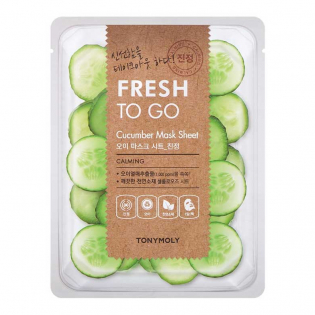 'Fresh to Go Cucumber' Face Tissue Mask - 22 g
